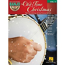 Hal Leonard Old-Time Christmas (Banjo Play-Along Volume 4) Banjo Play Along Series Softcover with CD