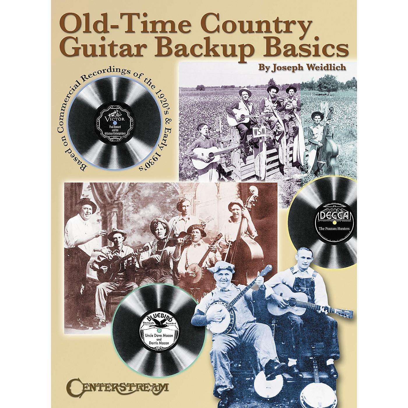 Centerstream Publishing Old Time Country Guitar Backup Basics Book thumbnail