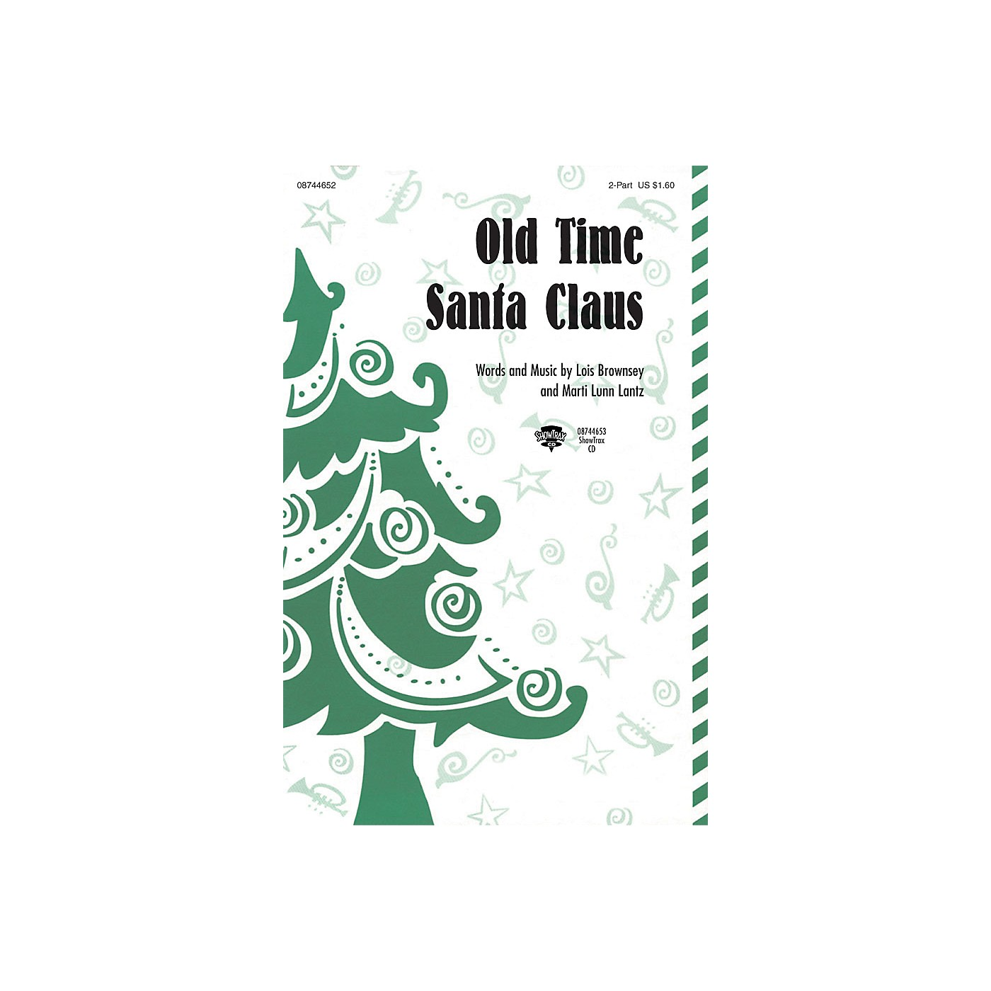 Hal Leonard Old Time Santa Claus ShowTrax CD Composed by Lois Brownsey and Marti Lunn Lantz thumbnail