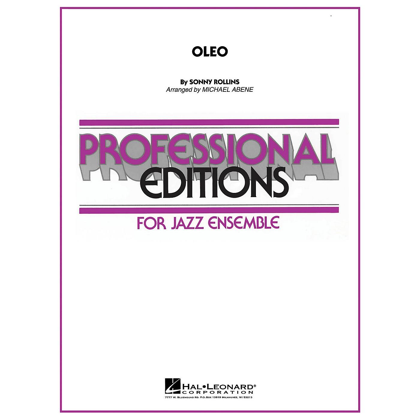 Hal Leonard Oleo Jazz Band Level 5-6 Arranged by Michael Abene thumbnail