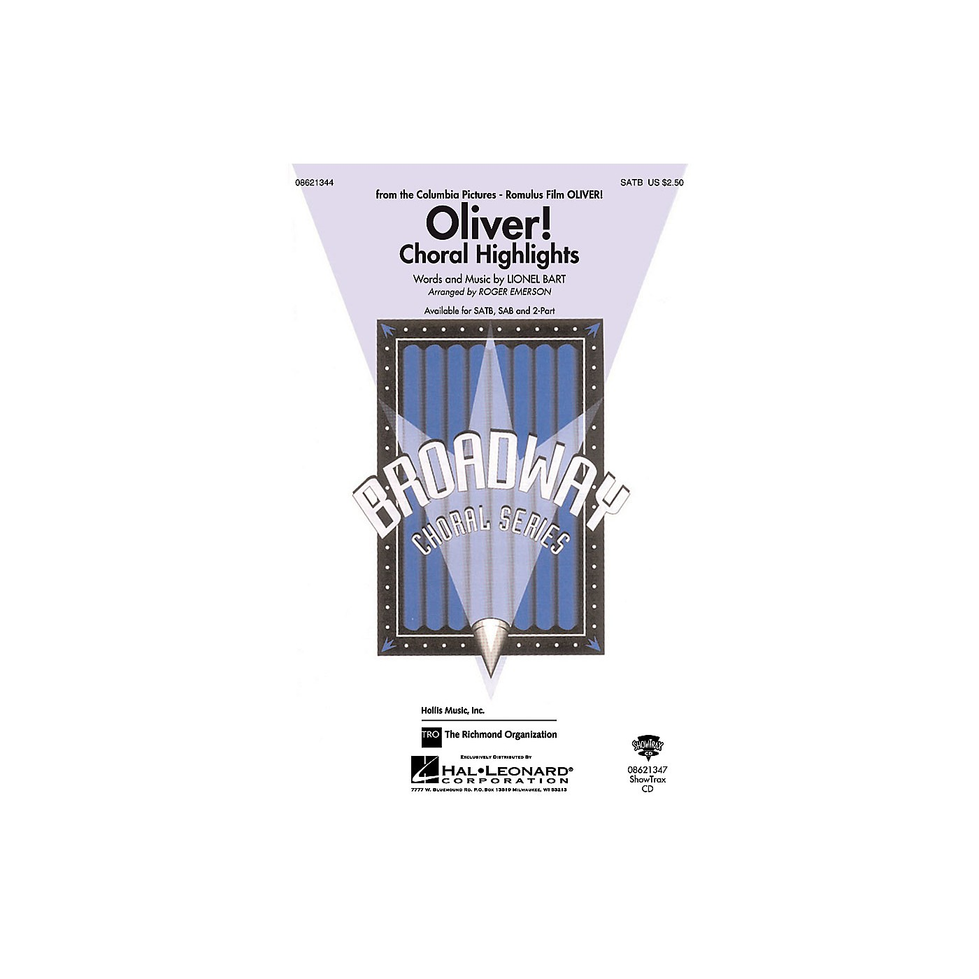 Hal Leonard Oliver Choral Highlights 2-Part Arranged by Roger Emerson thumbnail