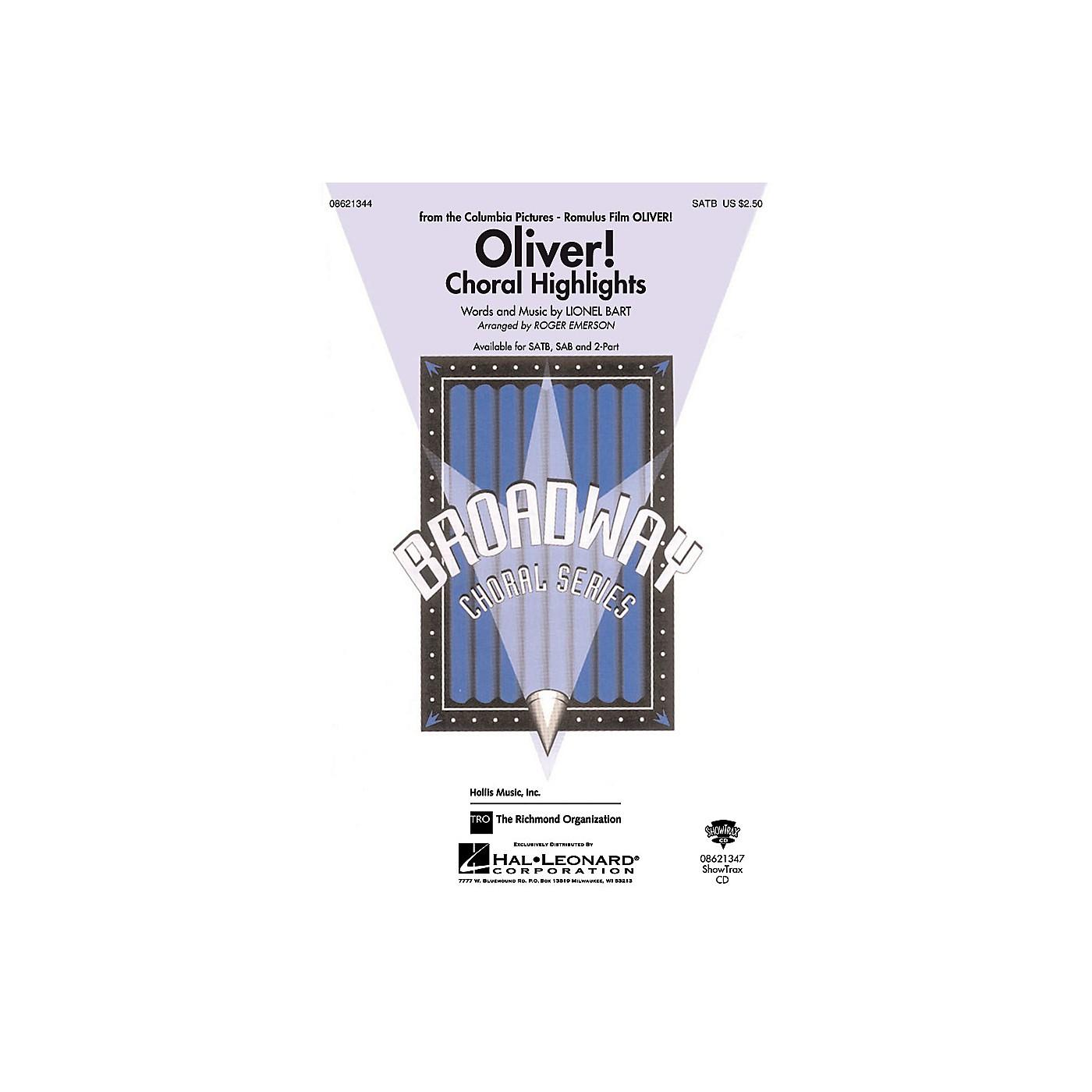 Hal Leonard Oliver Choral Highlights SAB Arranged by Roger Emerson thumbnail