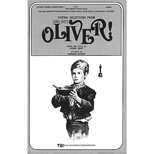 TRO ESSEX Music Group Oliver! (Choral Selections) SAB Arranged by Norman Leyden thumbnail