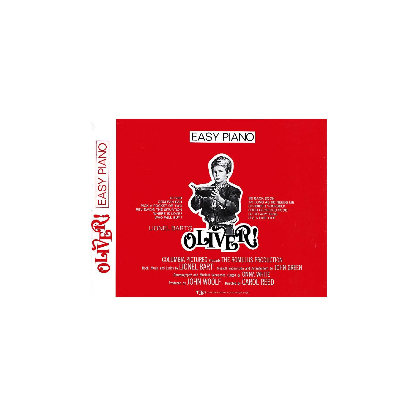 TRO ESSEX Music Group Oliver! Richmond Music ¯ Folios Series thumbnail