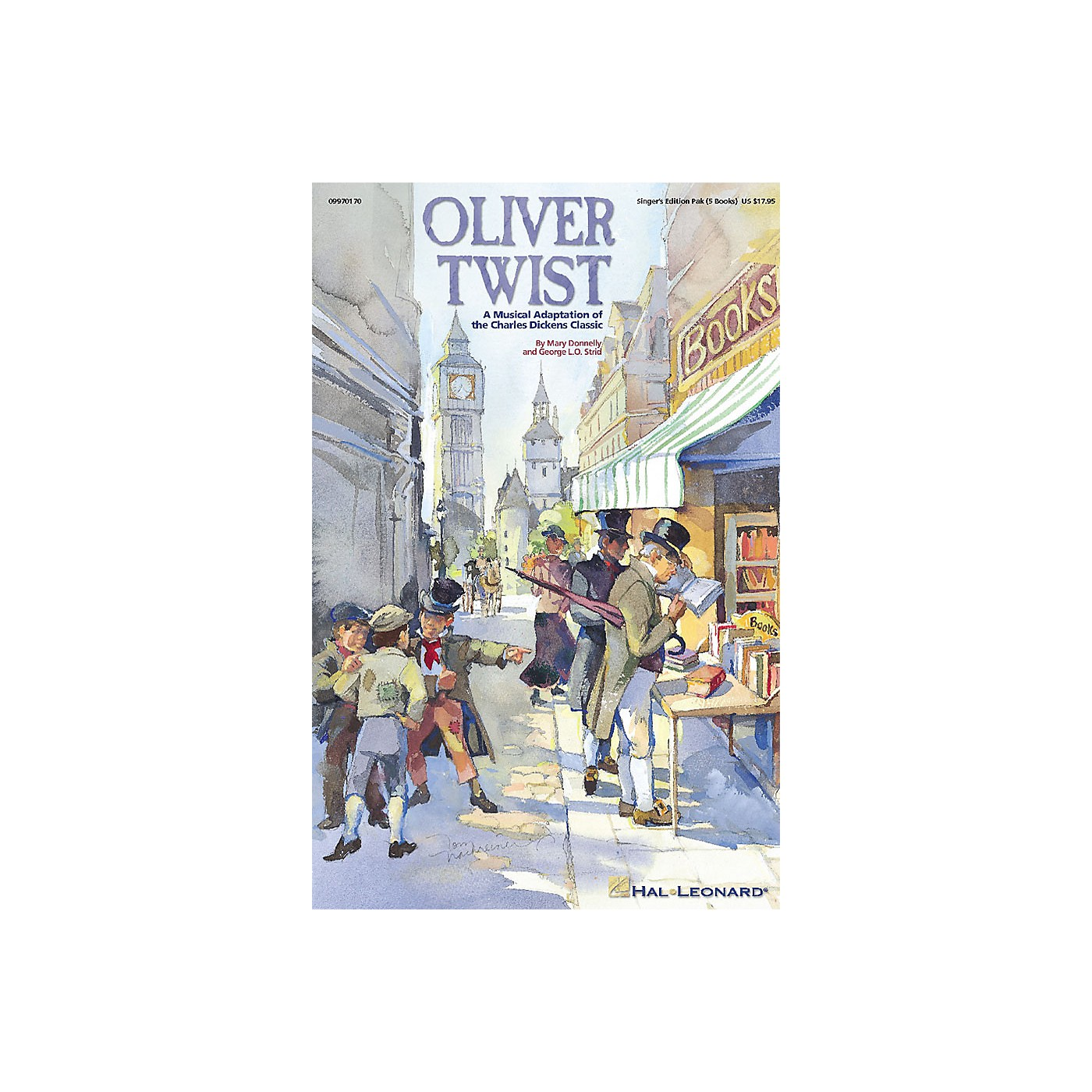 Hal Leonard Oliver Twist - A Musical Adaptation of the Charles Dickens Classic (Musical) Sgr 5 Pak by Mary Donnelly thumbnail