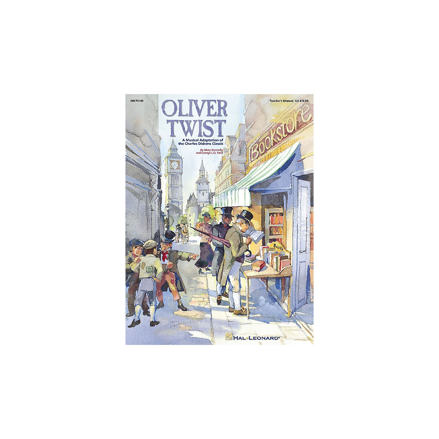 Hal Leonard Oliver Twist - A Musical Adaptation of the Charles Dickens Classic (Musical) ShowTrax CD by Billingsley thumbnail