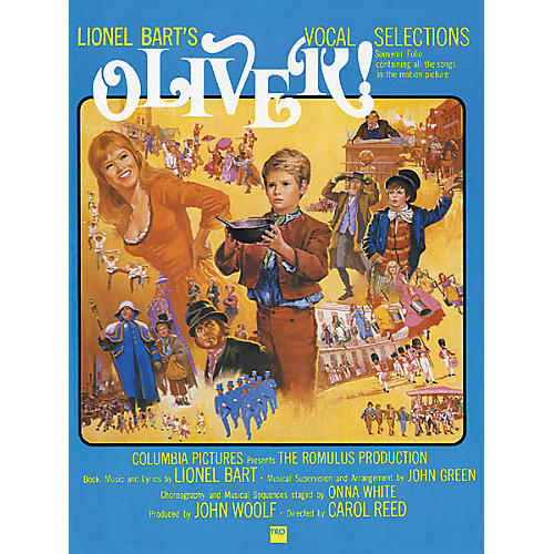 Richmond Organization Oliver! Vocal Selections Songbook thumbnail