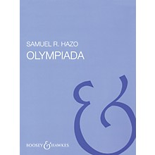Boosey and Hawkes Olympiada (Full Score) Concert Band Composed by Samuel R. Hazo