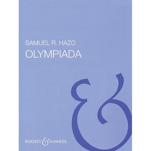 Boosey and Hawkes Olympiada (Full Score) Concert Band Composed by Samuel R. Hazo thumbnail
