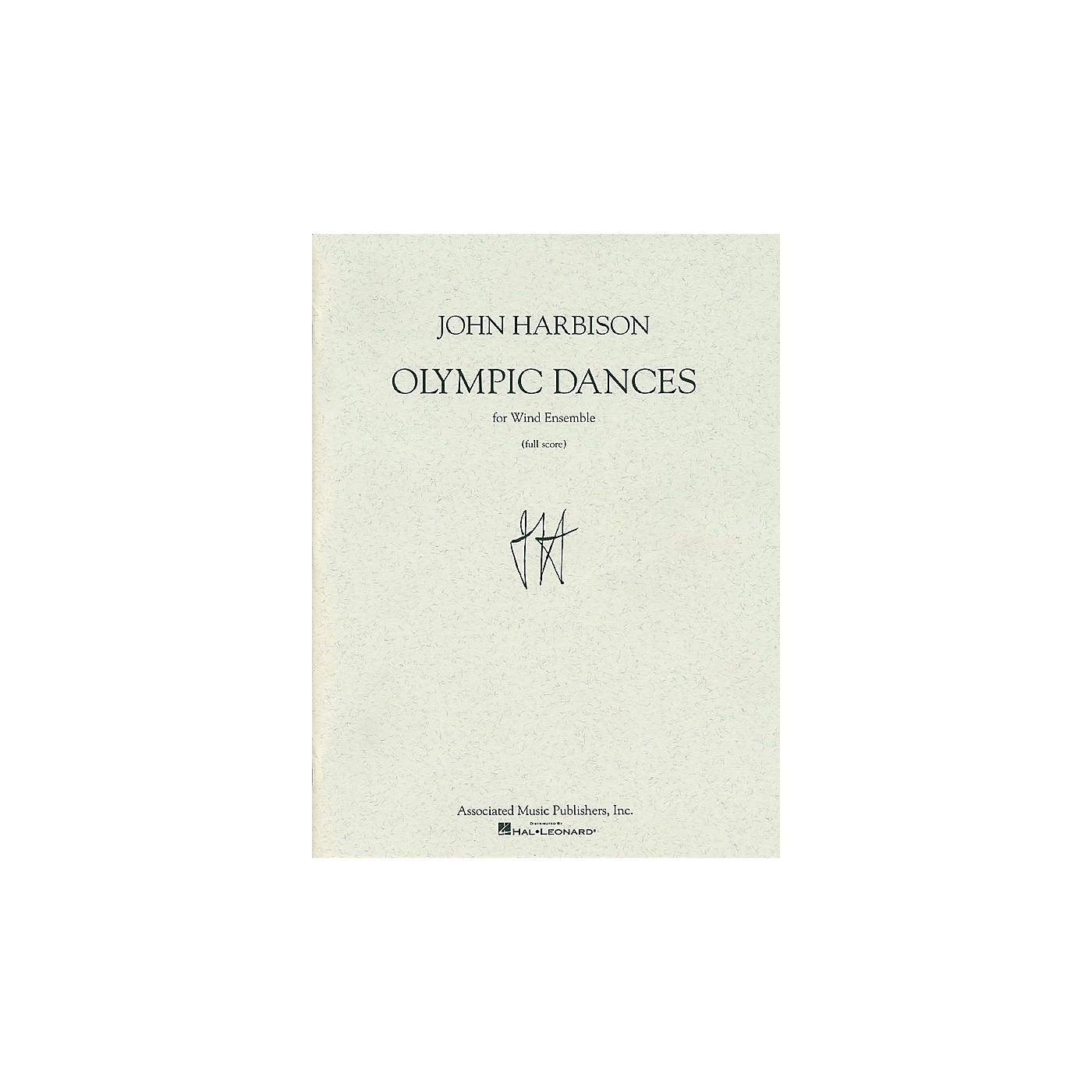 Associated Olympic Dances (Full Score) Full Score Series by John Harbison thumbnail