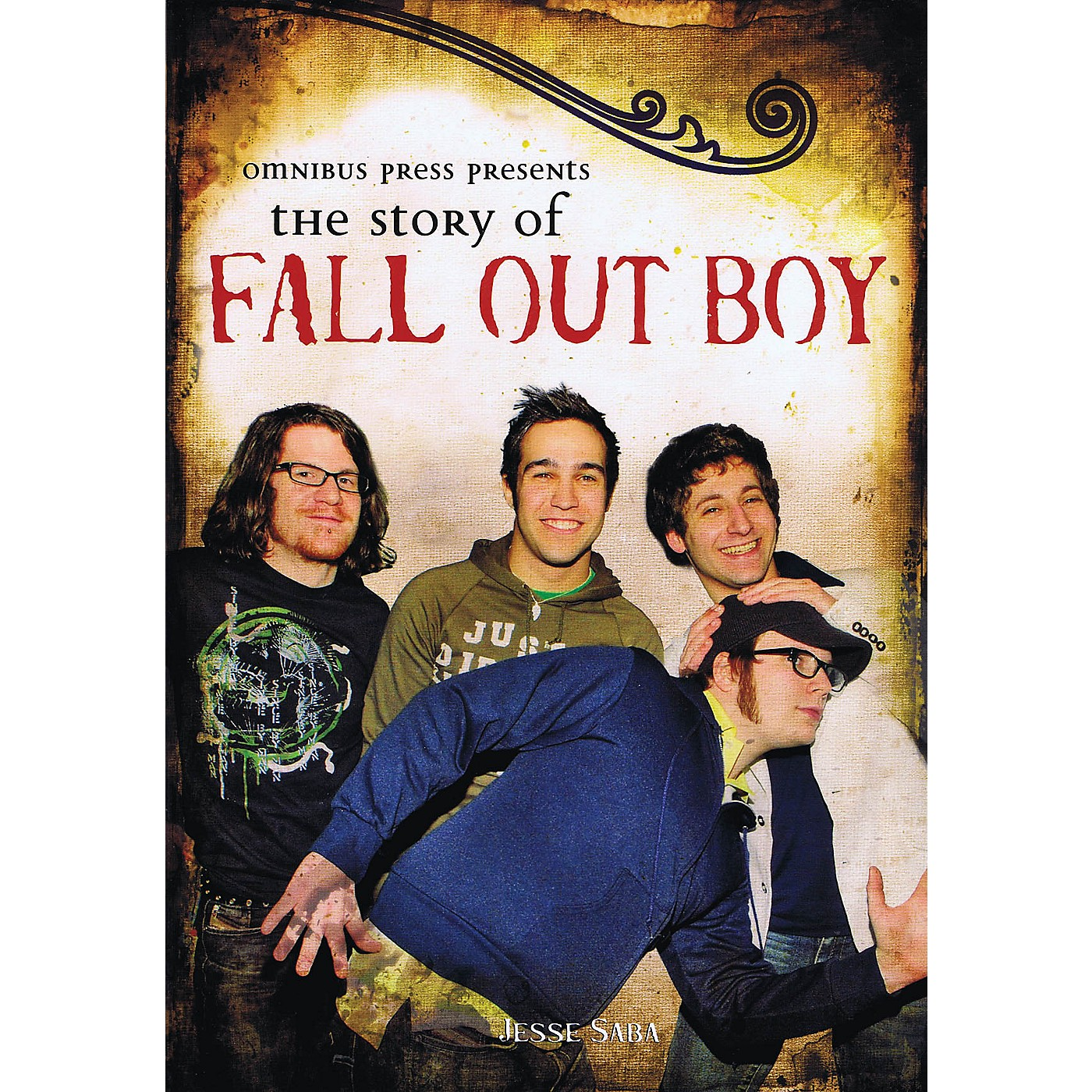 Omnibus Omnibus Press Presents The Story of Fall Out Boy Omnibus Press Series Softcover thumbnail
