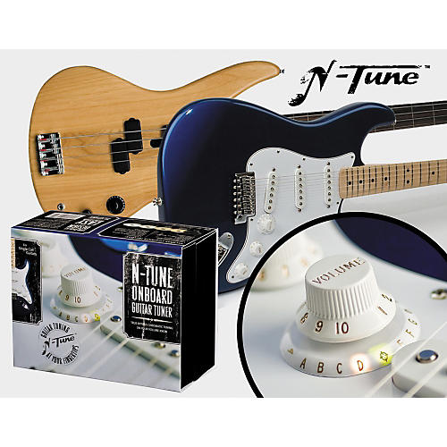 N-Tune On Board Chromatic Electric Guitar Tuner thumbnail