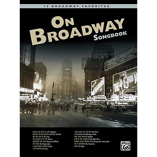 Alfred On Broadway Songbook Book & CD thumbnail