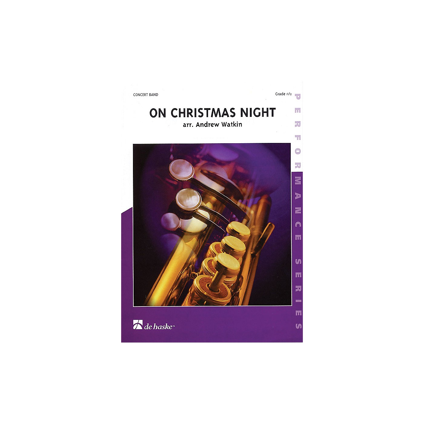 De Haske Music On Christmas Night (Score and Parts) Concert Band Level 1.5 Composed by Andrew Watkin thumbnail
