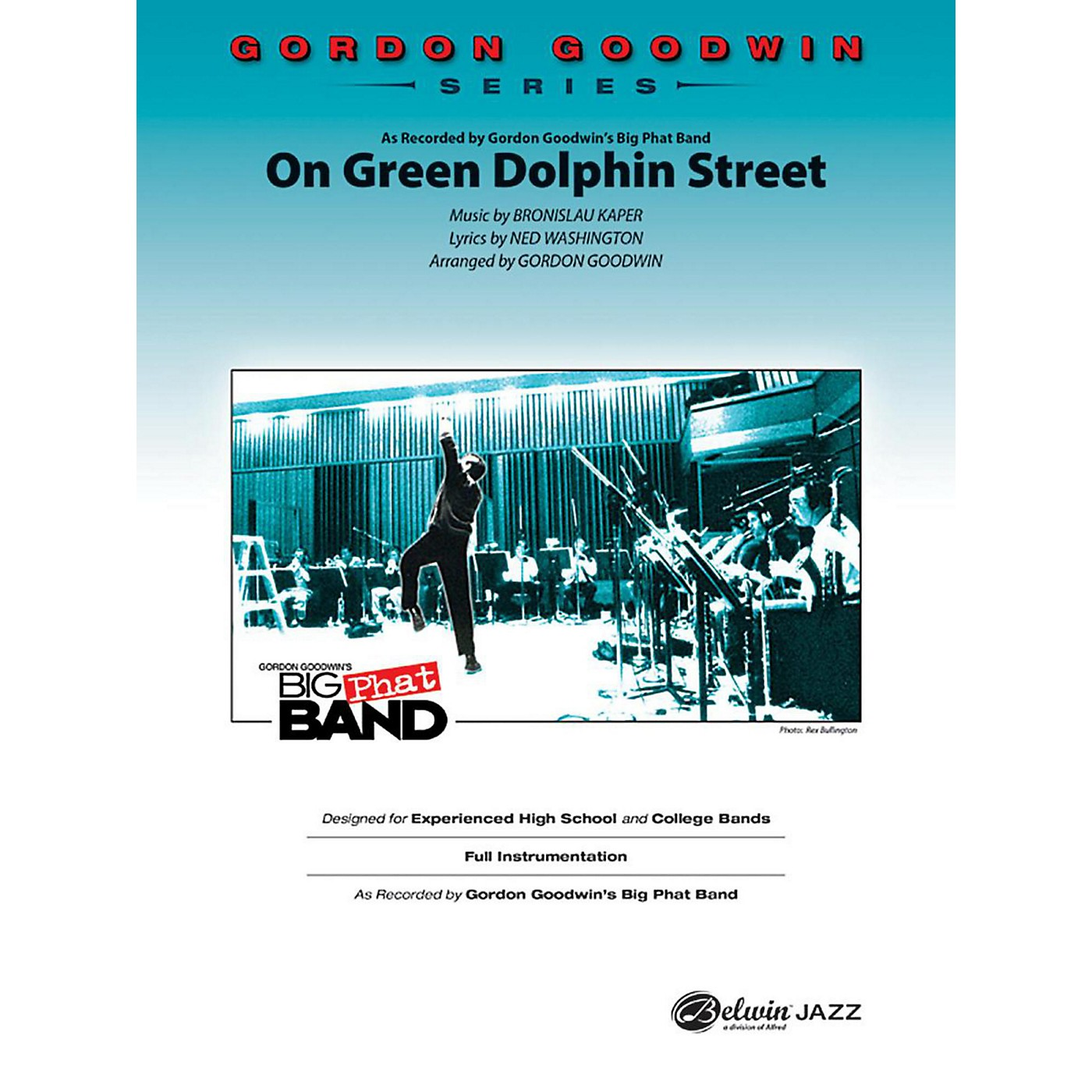 Alfred On Green Dolphin Street Gordon Goodwin Jazz Band Grade 6 Set thumbnail