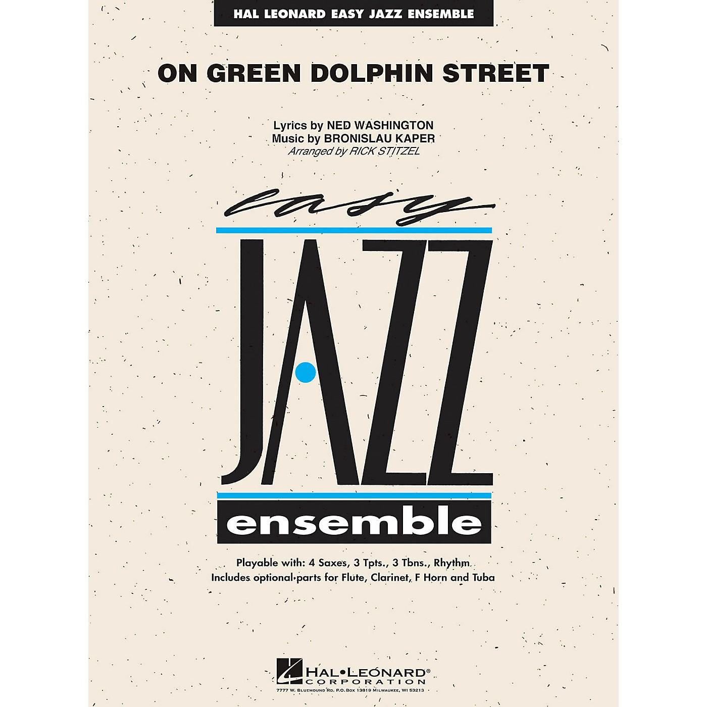Hal Leonard On Green Dolphin Street Jazz Band Level 2 Arranged by Rick Stitzel thumbnail