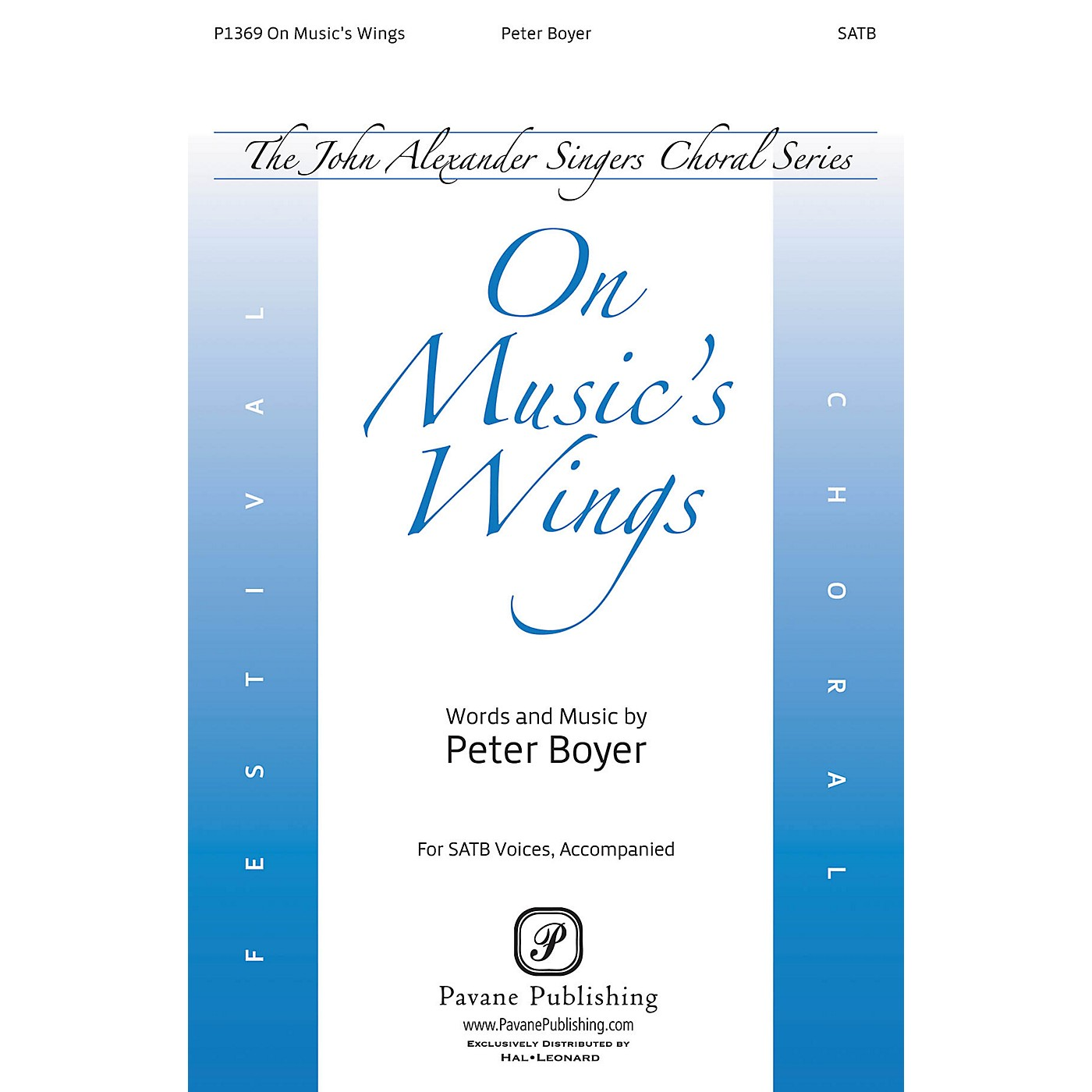 Pavane On Music's Wings SATB composed by Peter Boyer thumbnail