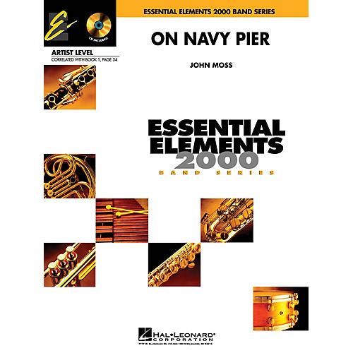 Hal Leonard On Navy Pier (Includes Full Performance CD) Concert Band Level 1 Arranged by John Moss thumbnail