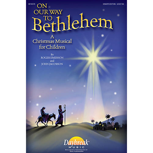 Daybreak Music On Our Way to Bethlehem (A Christmas Musical for Children) Singer 5 Pak by John Jacobson/Roger Emerson thumbnail