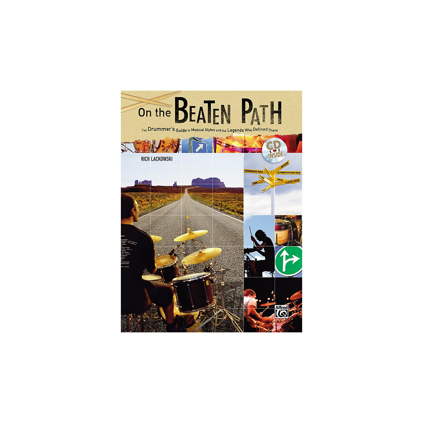 Alfred On The Beaten Path Book and CD thumbnail
