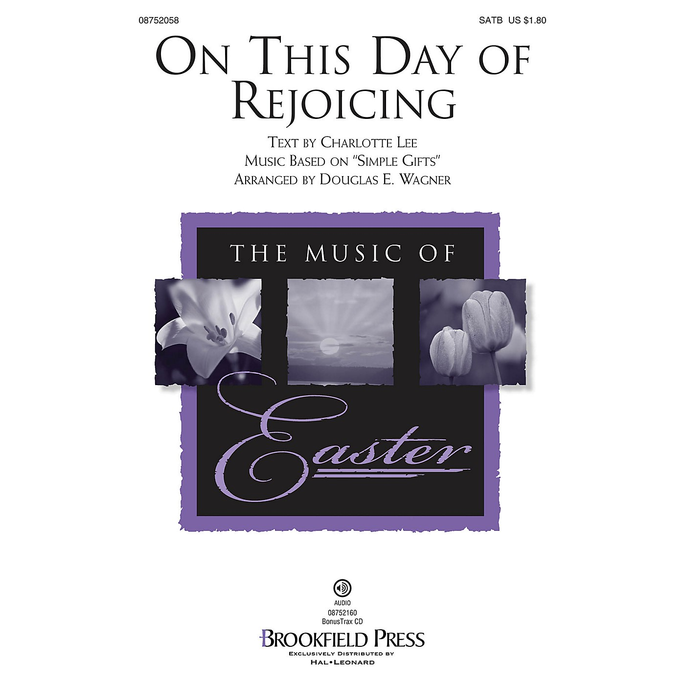 Brookfield On This Day of Rejoicing SATB arranged by Douglas E. Wagner thumbnail