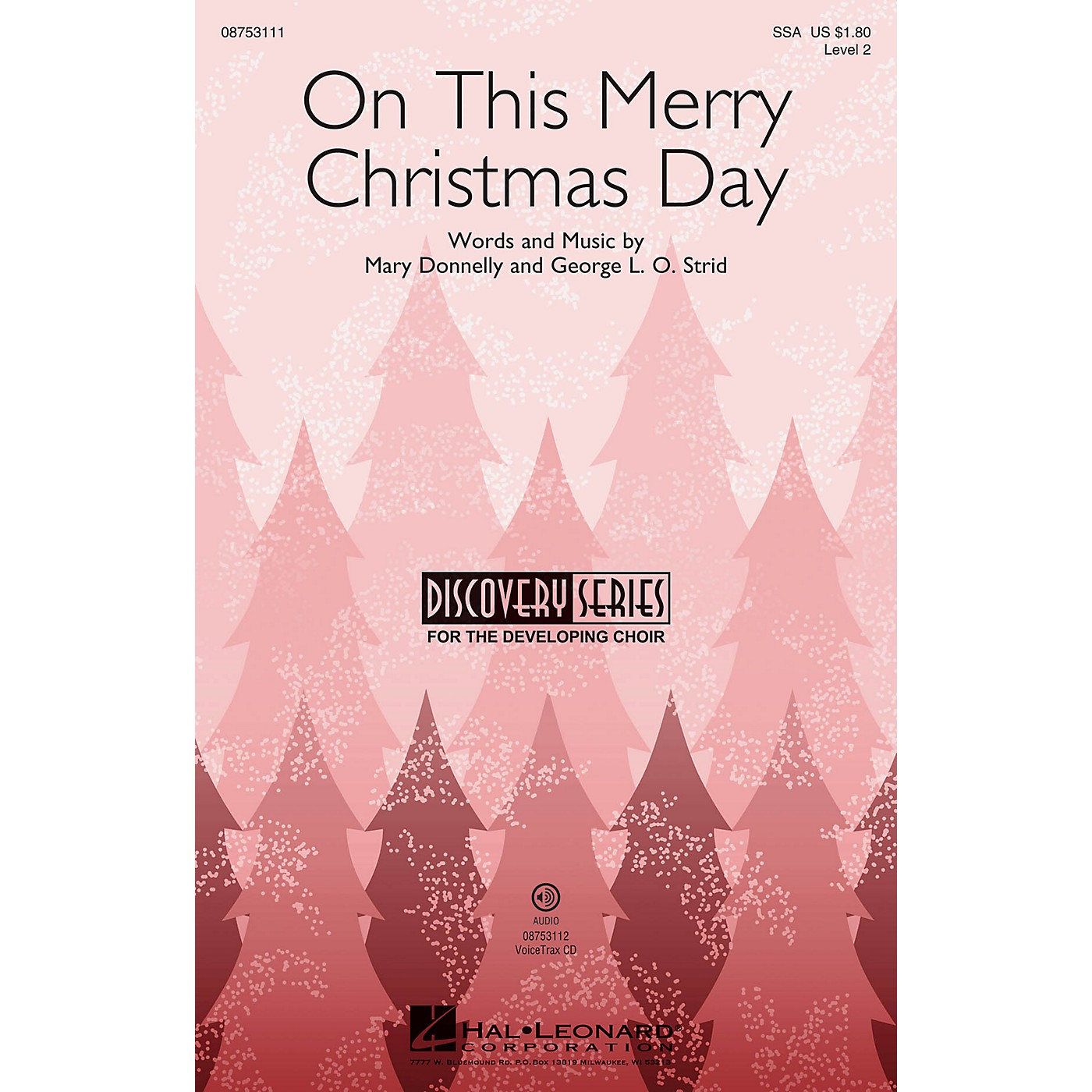 Hal Leonard On This Merry Christmas Day (Discovery Level 2) VoiceTrax CD Composed by Mary Donnelly thumbnail