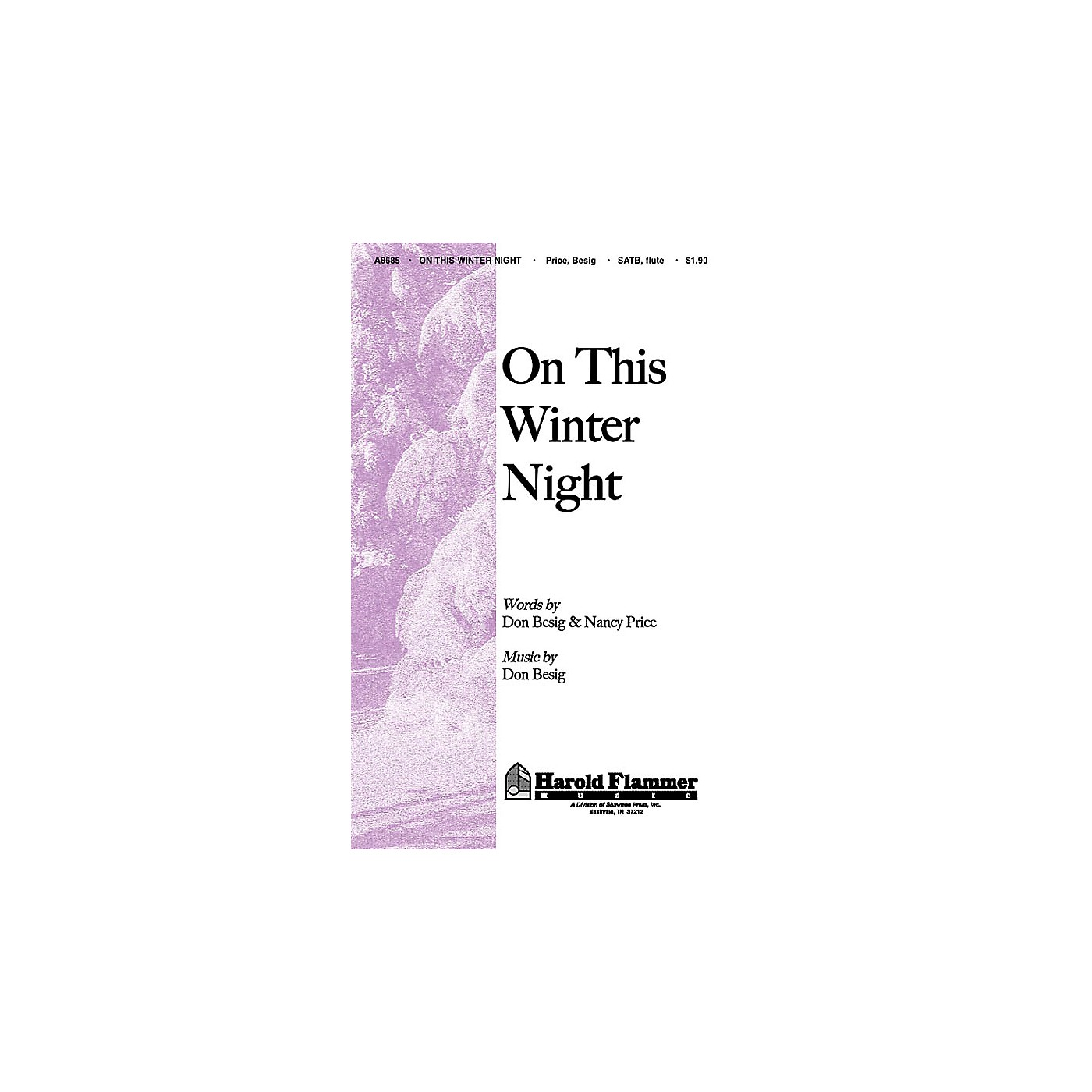 Shawnee Press On This Winter Night SATB composed by Nancy Price thumbnail