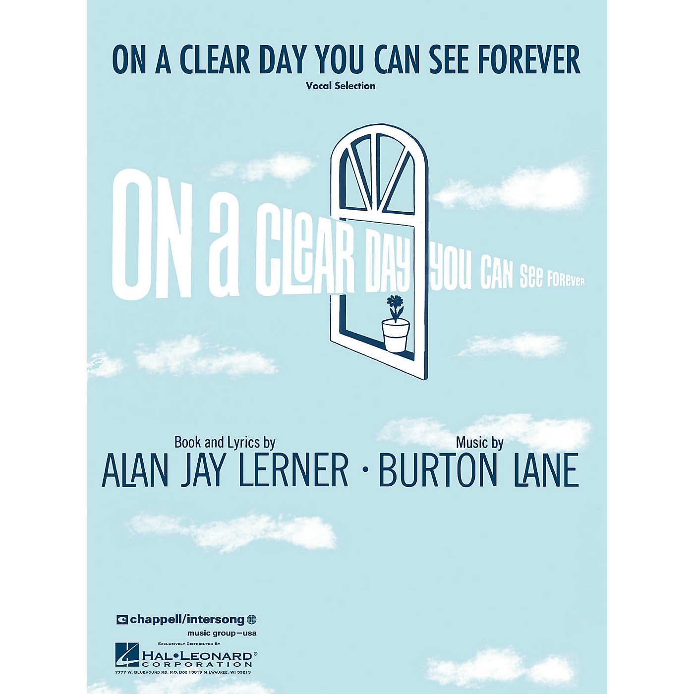 Hal Leonard On a Clear Day You Can See Forever Vocal Selections Series thumbnail