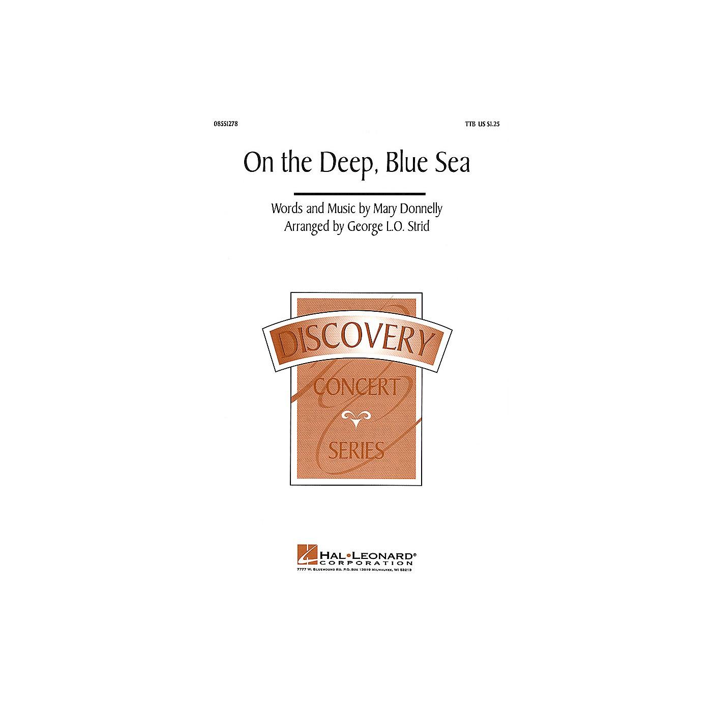 Hal Leonard On the Deep, Blue Sea TTB arranged by George L.O. Strid thumbnail