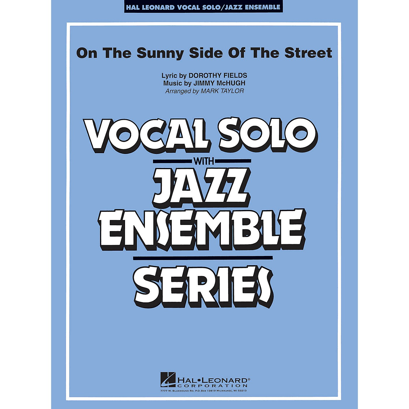 Hal Leonard On the Sunny Side of the Street (Key: Ab) Jazz Band Level 3-4 Composed by McHugh and Fields thumbnail