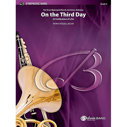 BELWIN On the Third Day Concert Band Grade 4 (Medium)-thumbnail
