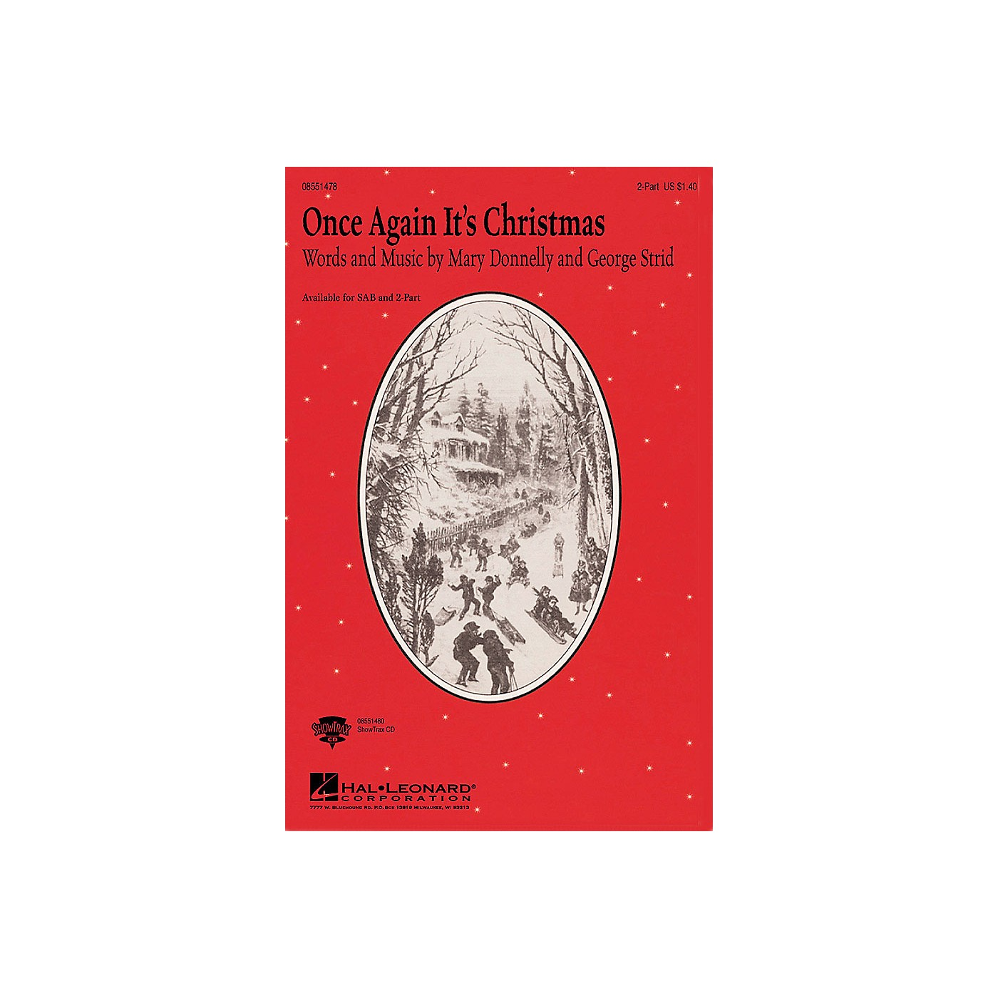 Hal Leonard Once Again It's Christmas 2-Part composed by Mary Donnelly thumbnail
