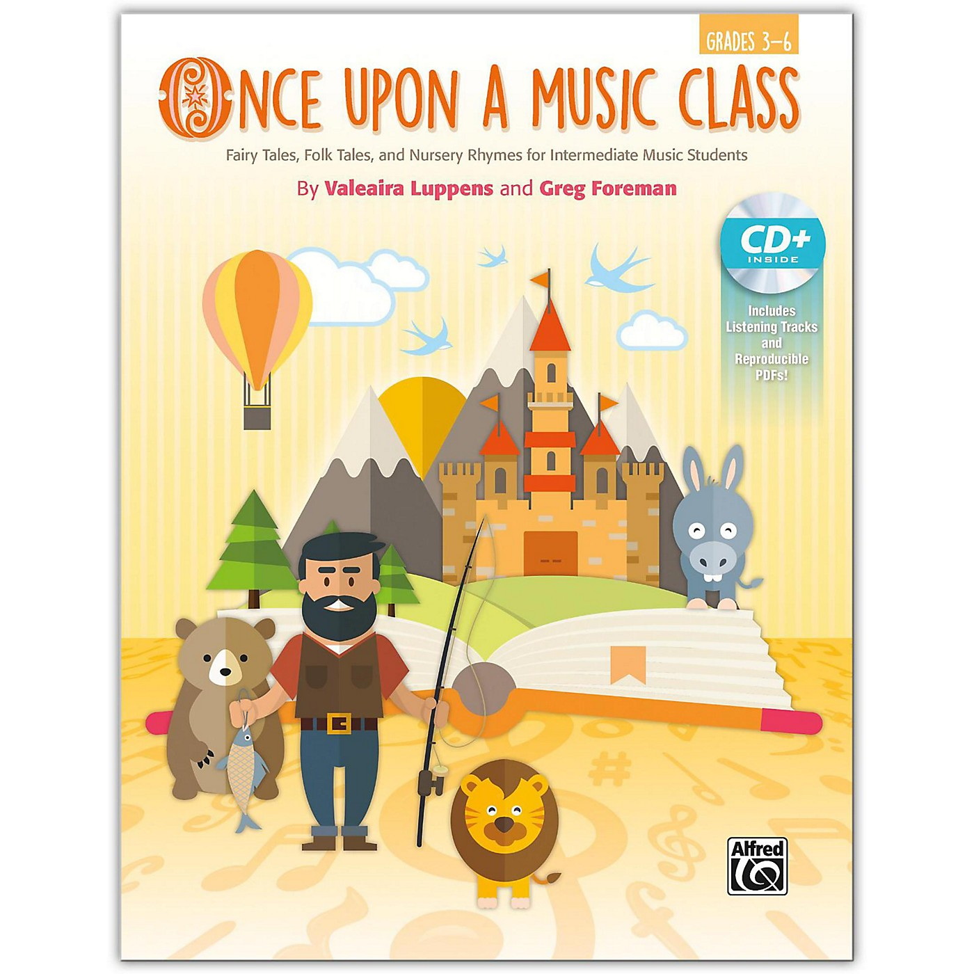 Alfred Once Upon a Music Class Intermediate Book & Enhanced SoundTrax CD Grades 3--6 thumbnail