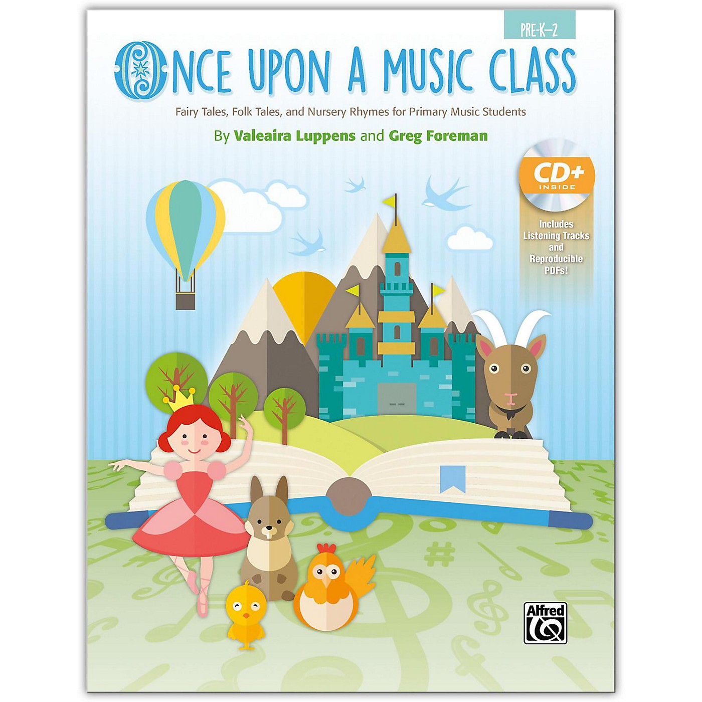 Alfred Once Upon a Music Class Primary Book & Enhanced SoundTrax CD Grades Pre-K--2 thumbnail