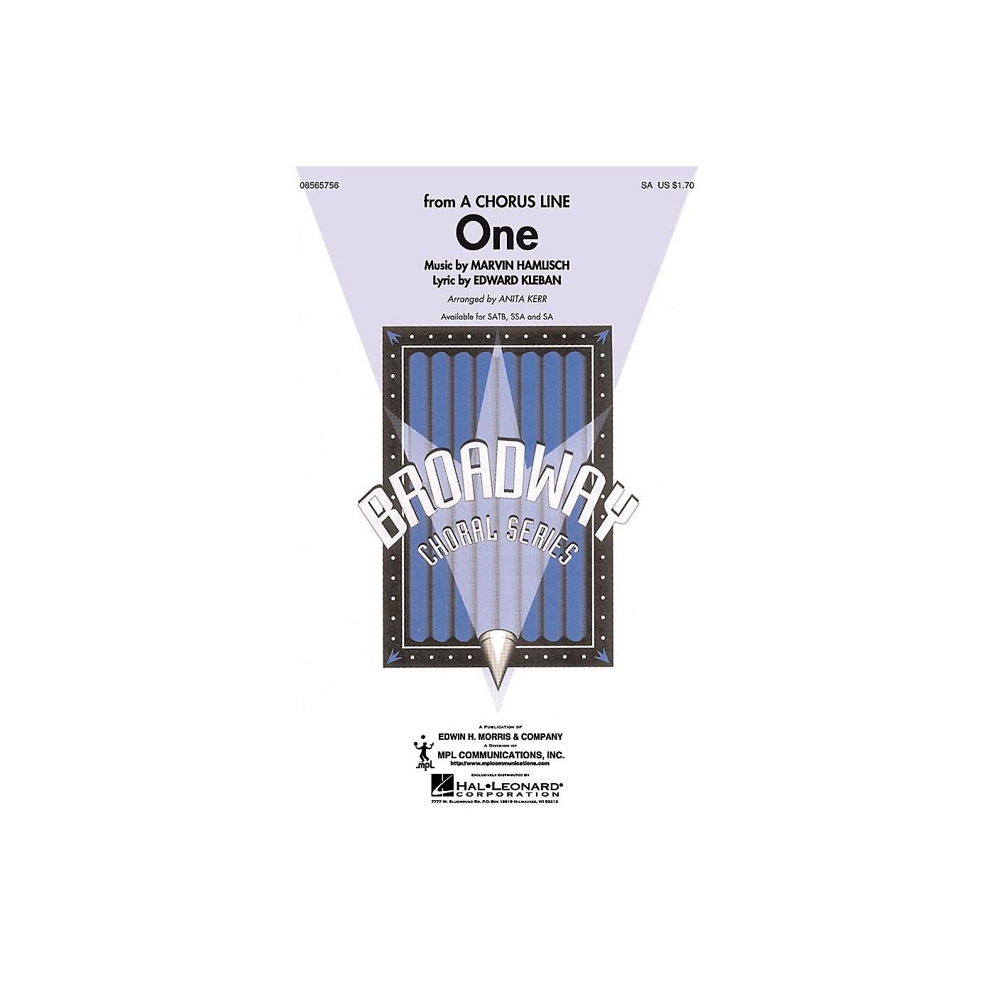 Hal Leonard One 2-Part arranged by Anita Kerr thumbnail