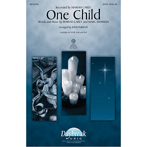 Daybreak Music One Child SAB by Mariah Carey Arranged by John Purifoy thumbnail