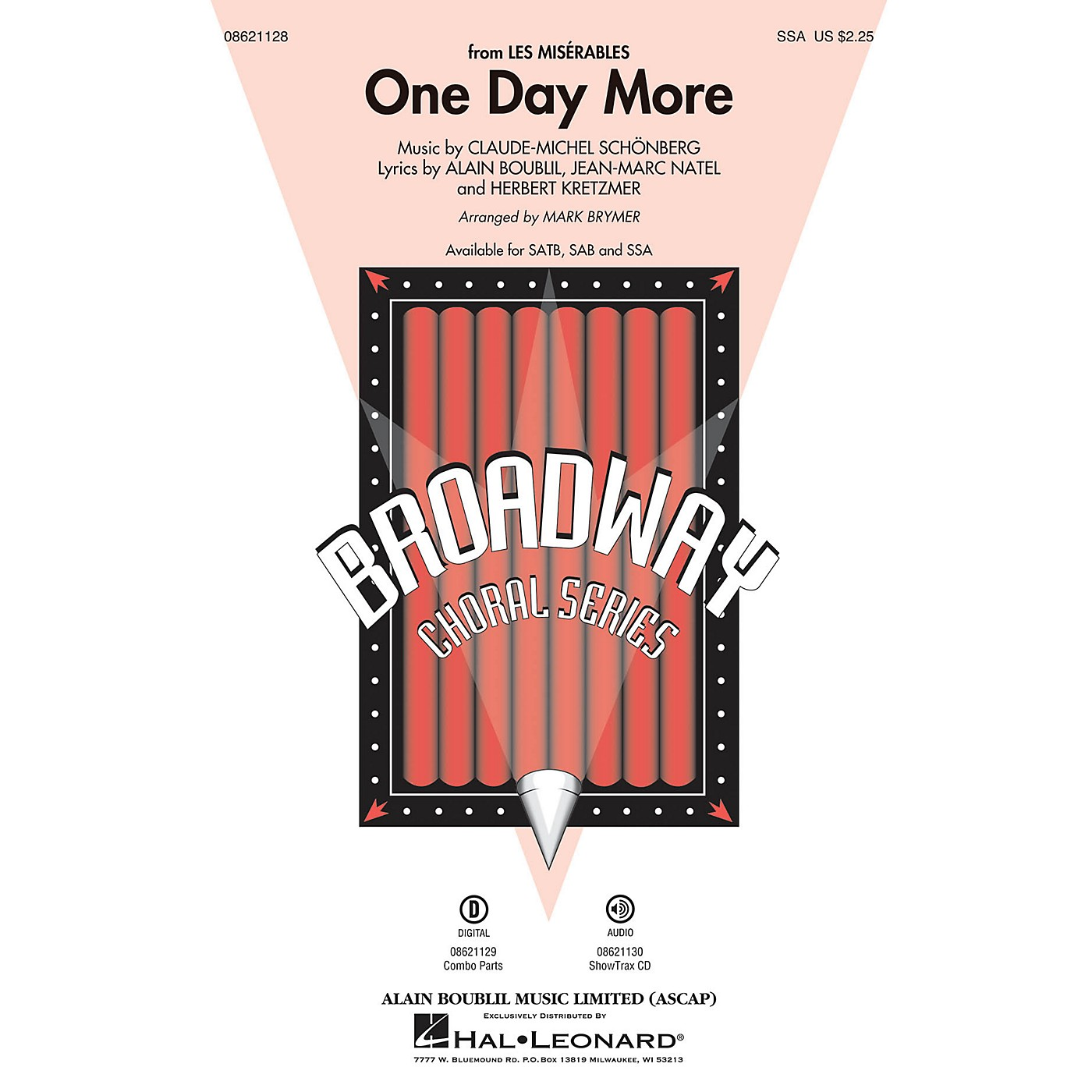 Hal Leonard One Day More (from Les Misérables) SSA arranged by Mark Brymer thumbnail