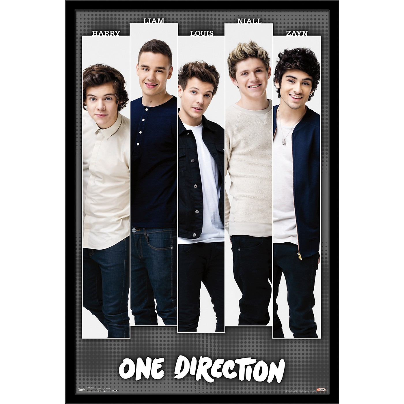 Trends International One Direction - Bars Poster thumbnail