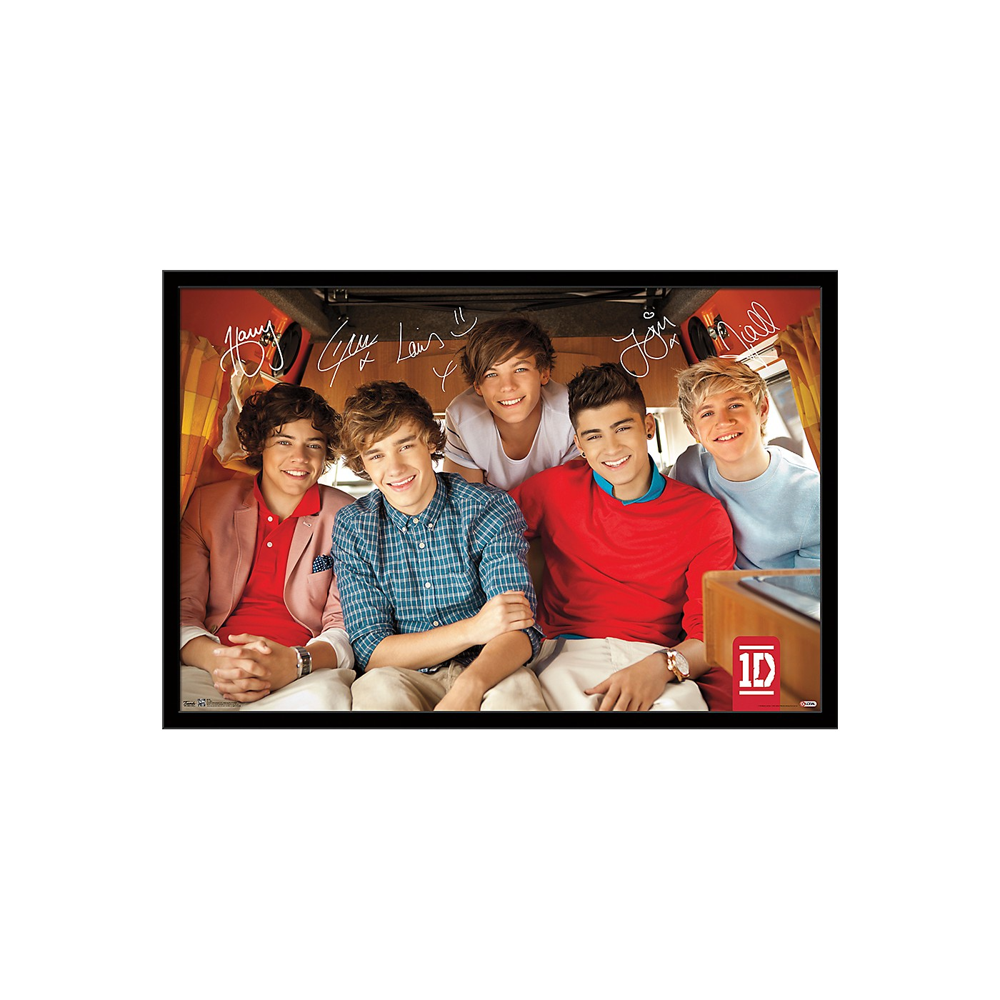 Trends International One Direction - Bus Poster thumbnail