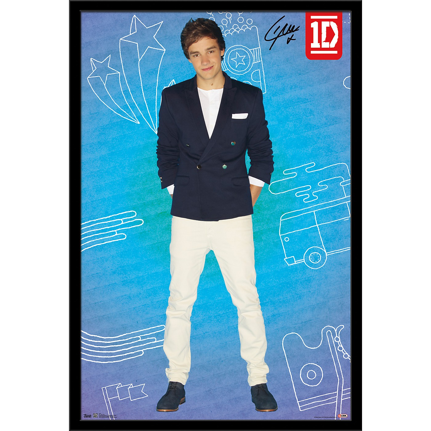 Trends International One Direction - Liam Pop Poster thumbnail
