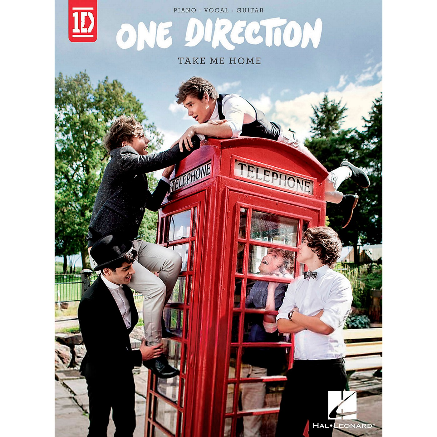 Hal Leonard One Direction - Take Me Home for Piano/Vocal/Guitar thumbnail