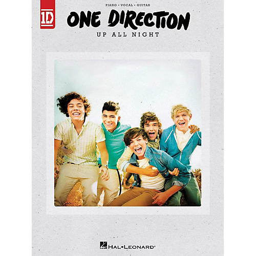 Hal Leonard One Direction - Up All Night for Piano/Vocal/Guitar thumbnail