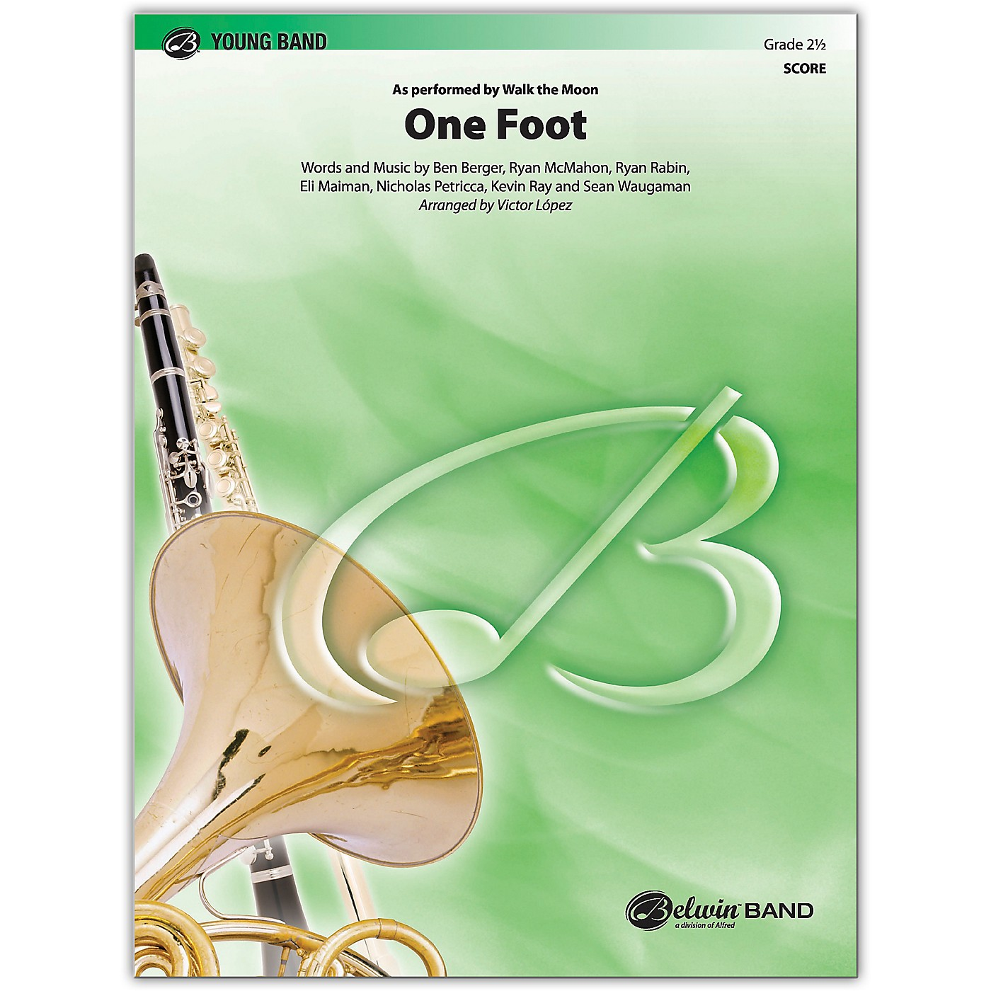 BELWIN One Foot Conductor Score 2.5 (Easy to Medium Easy) thumbnail