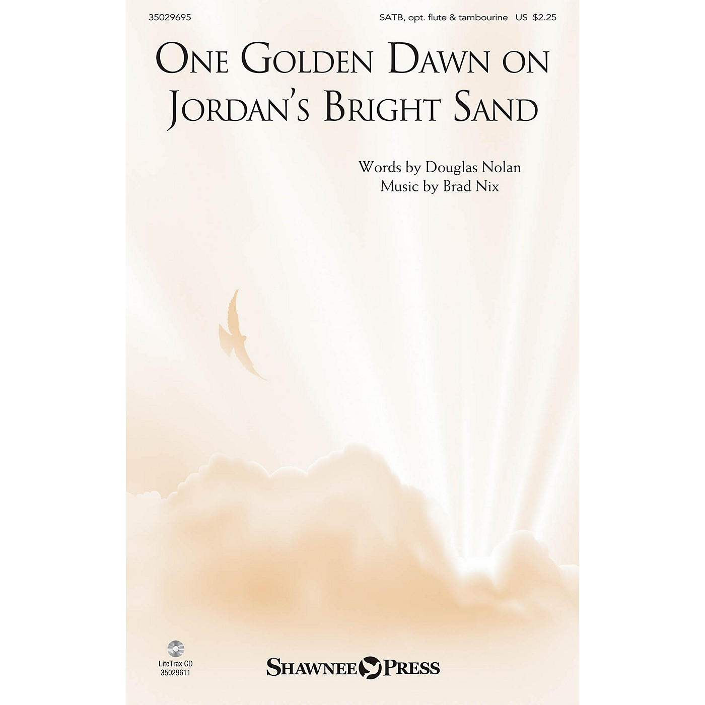 Shawnee Press One Golden Dawn On Jordan's Bright Sand SATB composed by Brad Nix thumbnail