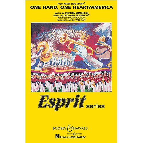Hal Leonard One Hand, One Heart/america (from west Side Story_ Full Score Marching Band thumbnail