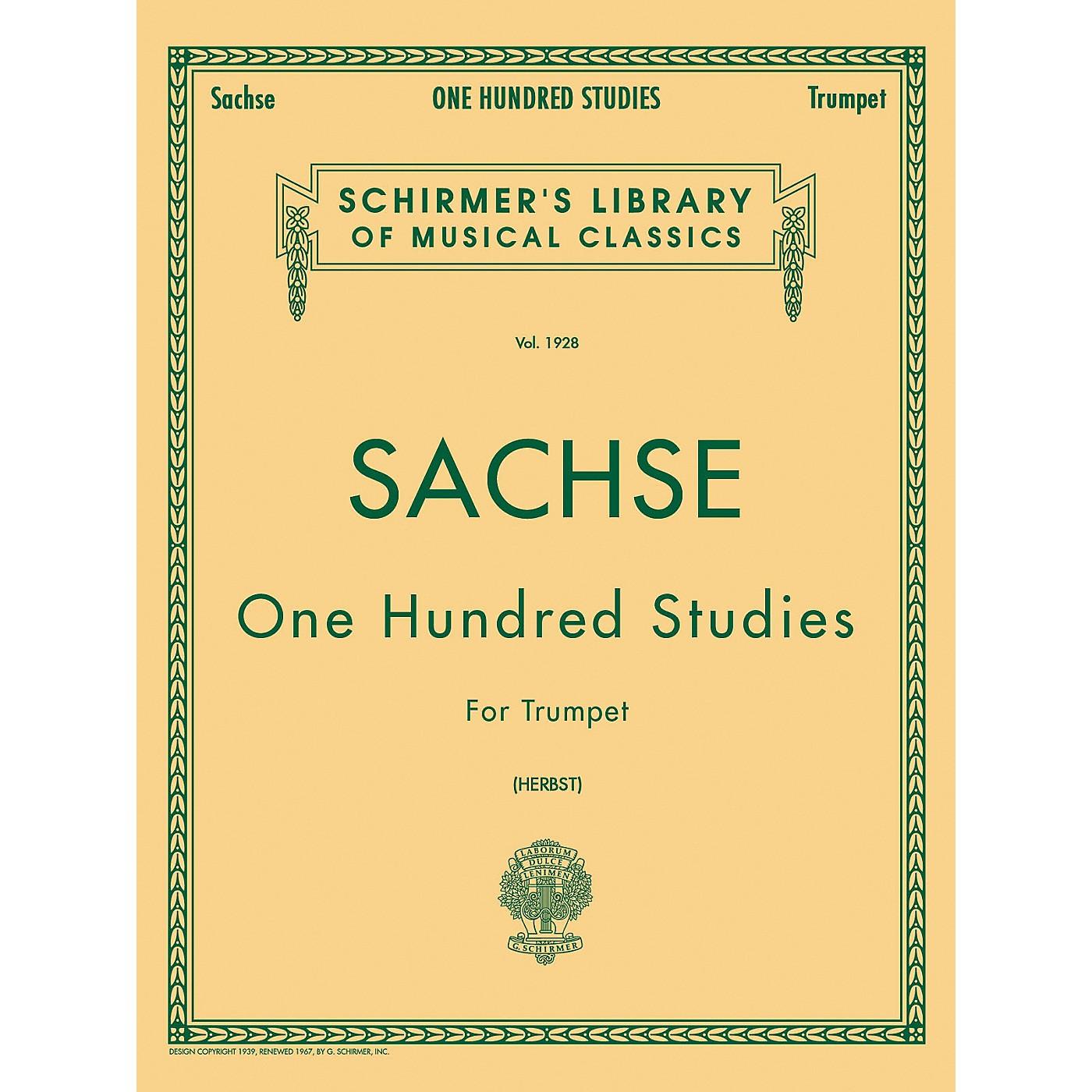 G. Schirmer One Hundred Studies Trumpet thumbnail
