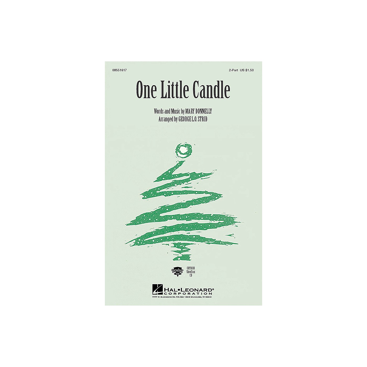 Hal Leonard One Little Candle (ShowTrax CD) ShowTrax CD Composed by Mary Donnelly thumbnail
