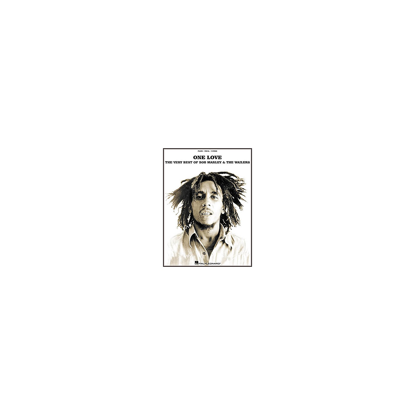 Hal Leonard One Love - The Very Best of Bob Marley and The Wailers Piano/Vocal/Guitar Artist Songbook thumbnail
