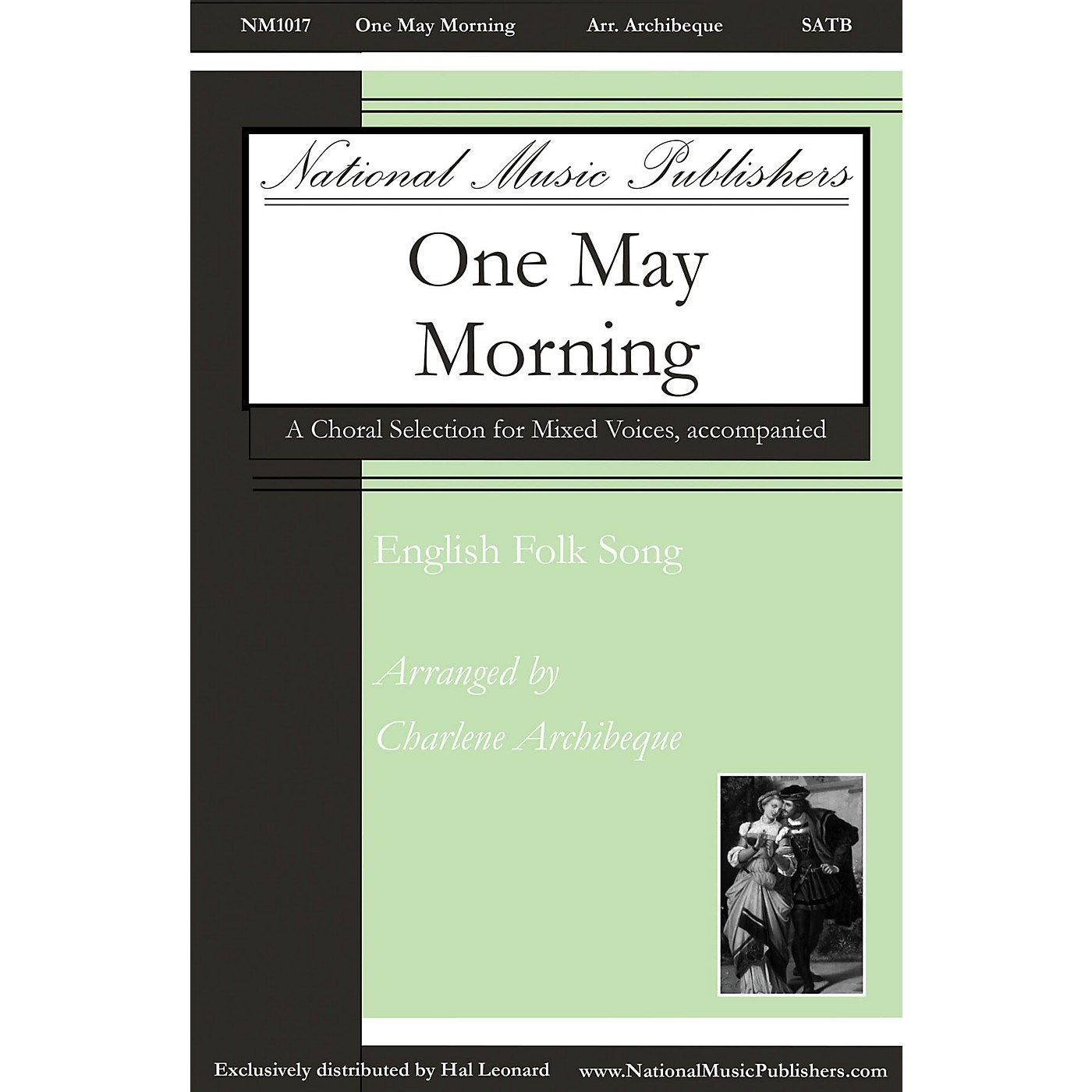 National Music Publishers One May Morning SATB arranged by Charlene Archibeque thumbnail