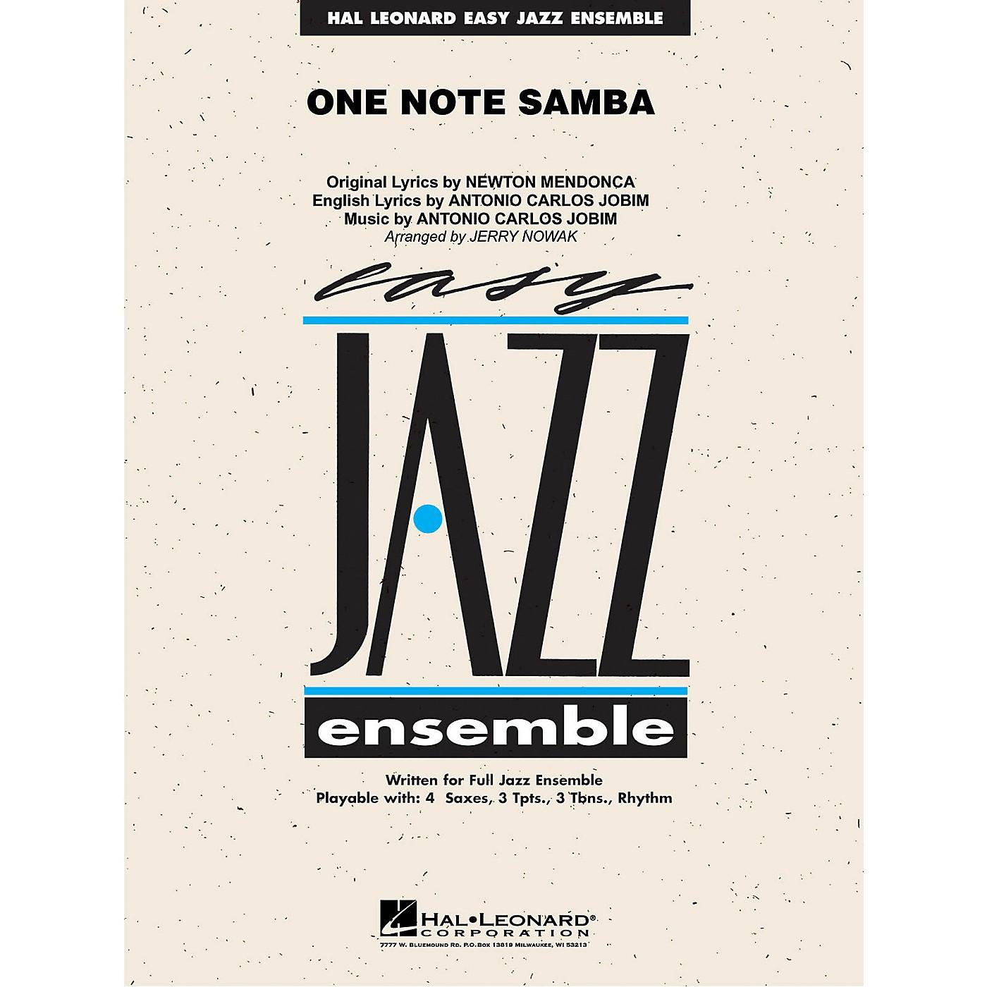 Hal Leonard One Note Samba Jazz Band Level 2 Arranged by Jerry Nowak thumbnail